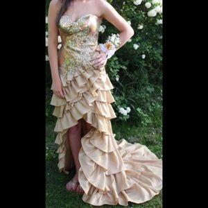 Tony Bowls Paris Prom Dress